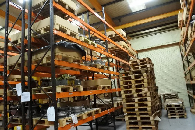 3 bays of pallet racking for 3 bays