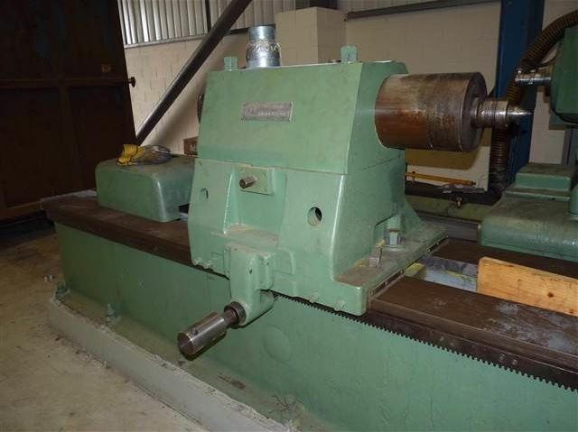 Churchill Twa Roll Grinding Machine With Cambering Attachment