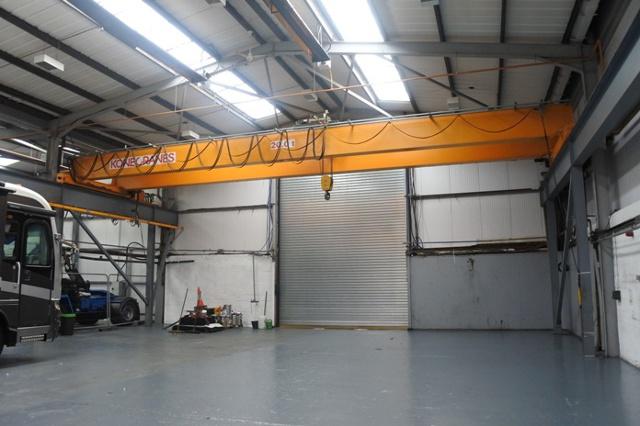 Overhead Gantry Crane Training Aberdeen : Kone tonne double girder overhead crane metre span