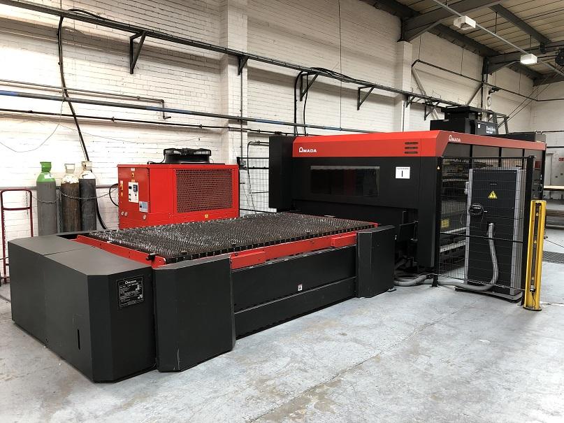 AMADA FO MKII 3015 NT CNC Laser Cutting Machine with Fanuc