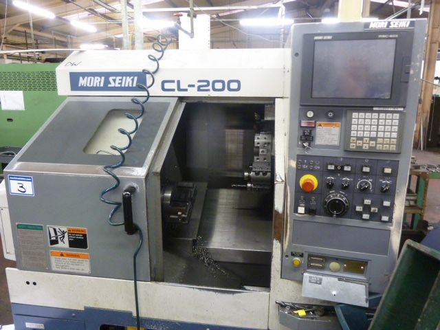 Mori Seiki CL200A CNC Lathe with MSC-803 Control (1997)