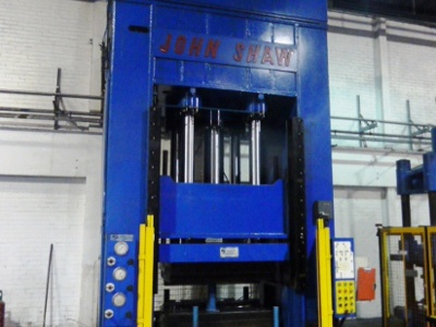FINAL CLEARANCE OF REMAINING HYDRAULIC PRESSES